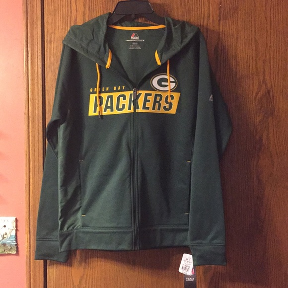 6725a307 NWT GREEN BAY PACKERS JACKET NWT